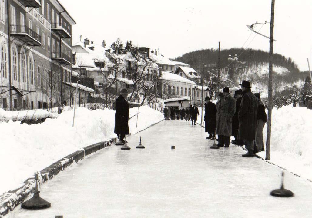 Rechensteg Eisbahn 1970-er
