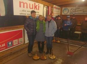 Sabine, Vroni und Heidi