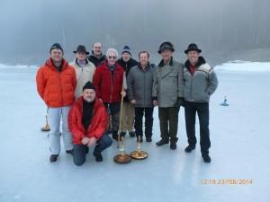 Die erfolgreiche Mannschaft des ESV Rechensteg